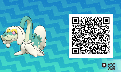 244 Pokemon Sun and Moon Drampa QR Code