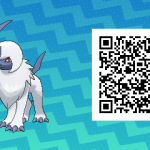 245 Pokemon Sun and Moon Absol QR Code