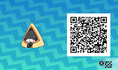 246 Pokemon Sun and Moon Snorunt QR Code