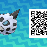 247 Pokemon Sun and Moon Glalie QR Code