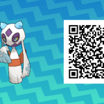 248 Pokemon Sun and Moon Froslass QR Code
