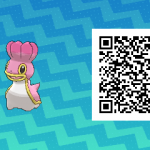 260 Pokemon Sun and Moon Shellos QR Code