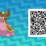 261 Pokemon Sun and Moon Gastrodon QR Code