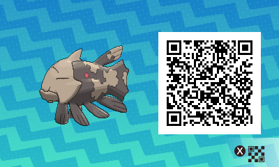 262 Pokemon Sun and Moon Ralicanth QR Code