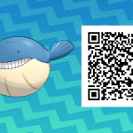 266 Pokemon Sun and Moon Wailmer QR Code