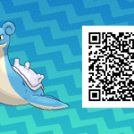 268 Pokemon Sun and Moon Lapras QR Code