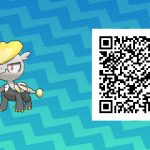 271 Pokemon Sun and Moon Jangmo O QR Code
