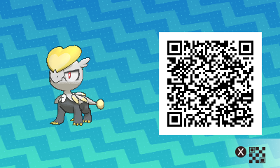 271 Pokemon Sun and Moon Jangmo O QR Code