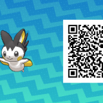 274 Pokemon Sun and Moon Emolga QR Code