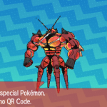 294 Pokemon Sun and Moon Buzzwole QR Code