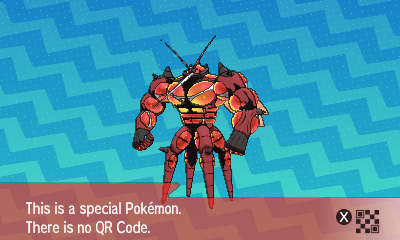 294 Pokemon Sun and Moon Buzzwole QR Code