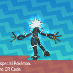 296 Pokemon Sun and Moon Xurkitree QR Code