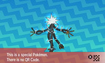 296 Pokemon Sun and Moon Xurkitree QR Code