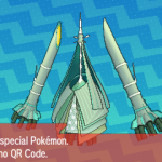 297 Pokemon Sun and Moon Celesteela QR Code