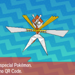 298 Pokemon Sun and Moon Kartana QR Code