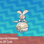 301 Pokemon Sun and Moon Magearna QR Code