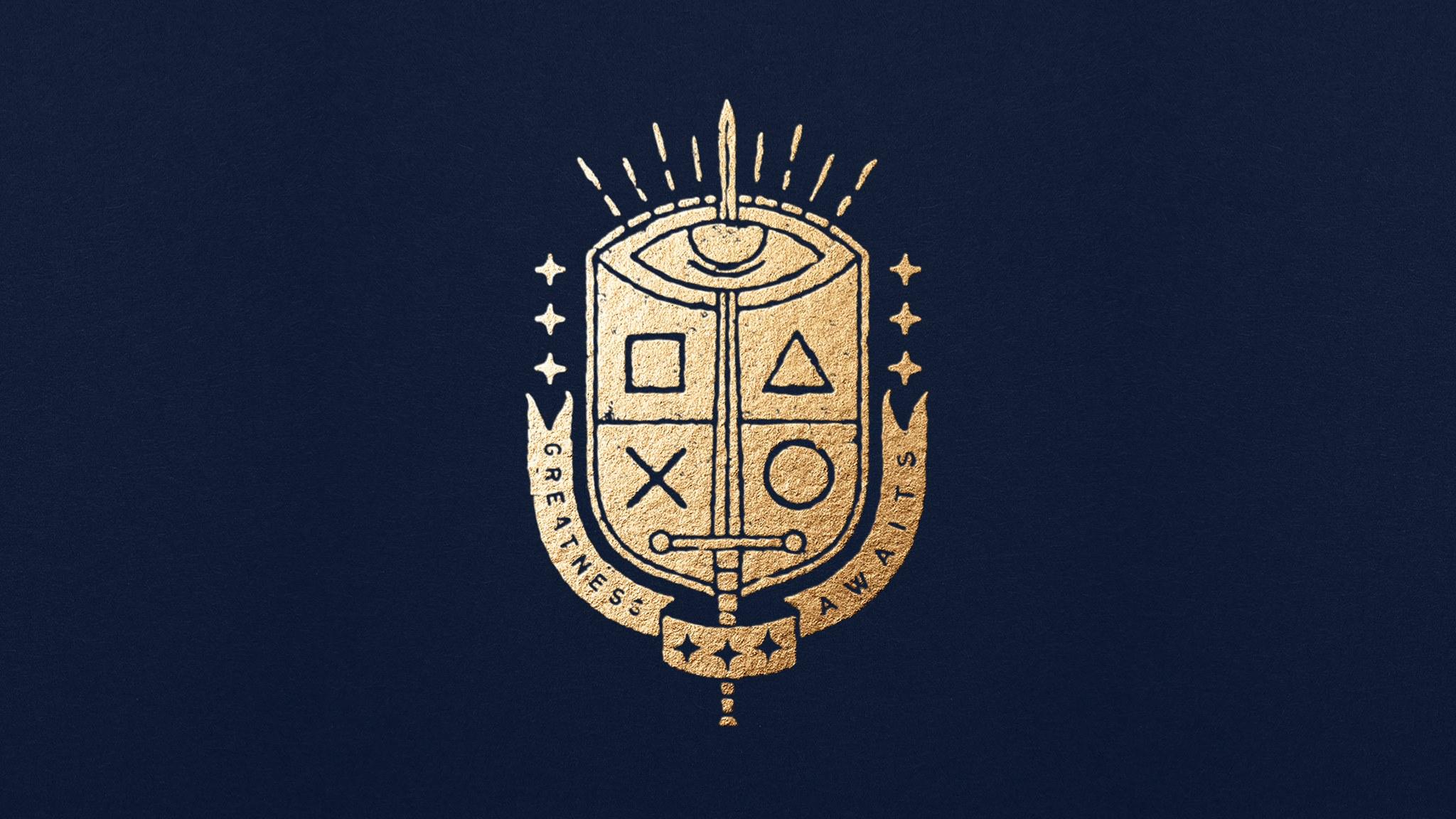 PS4 King's Crest Logo