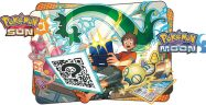 Pokemon Sun and Moon QR Codes