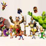 Crash Bandicoot N. Sane Trilogy Characters