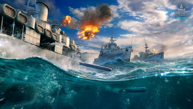 World of Warships British Cruisers Wallpaper