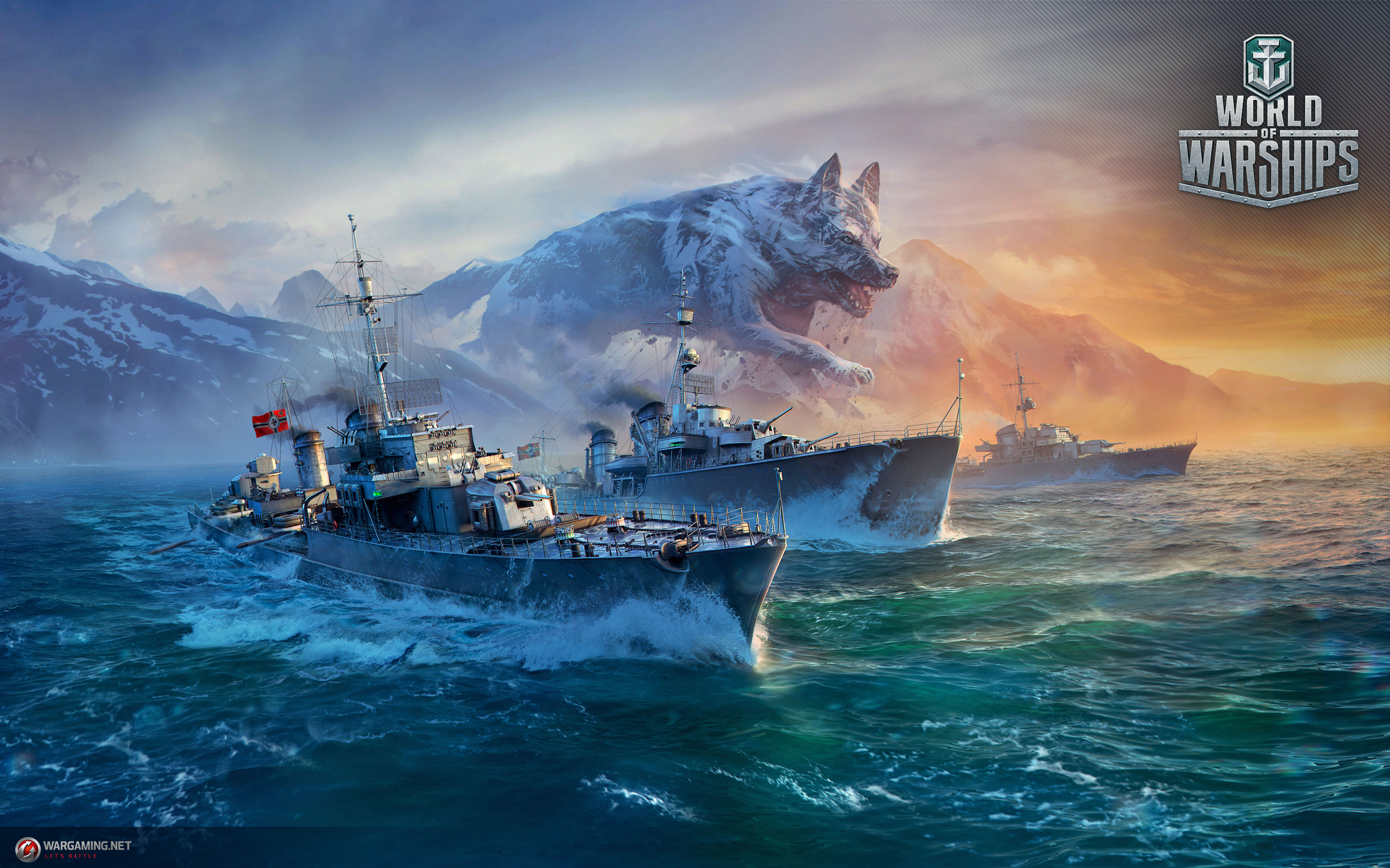 World of Warships German Destroyers Wallpaper