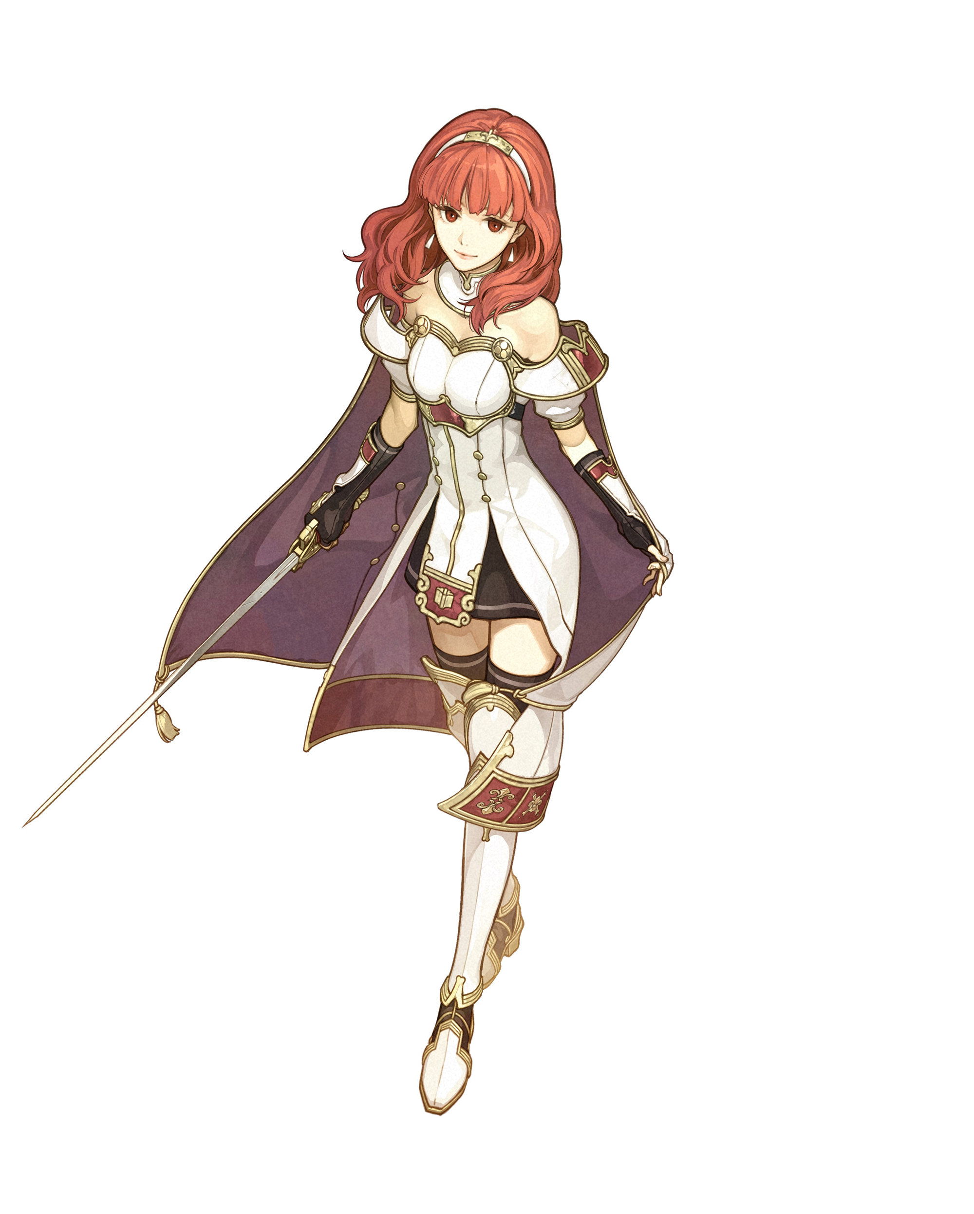 Fire Emblem Echoes Shadows Of Valentia Character Art 2