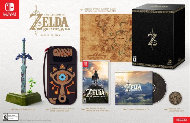 The Legend of Zelda: Breath of the Wild Master Edition