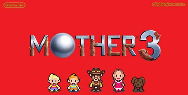 Mother 3 AKA Earthbound 2 GBA logo