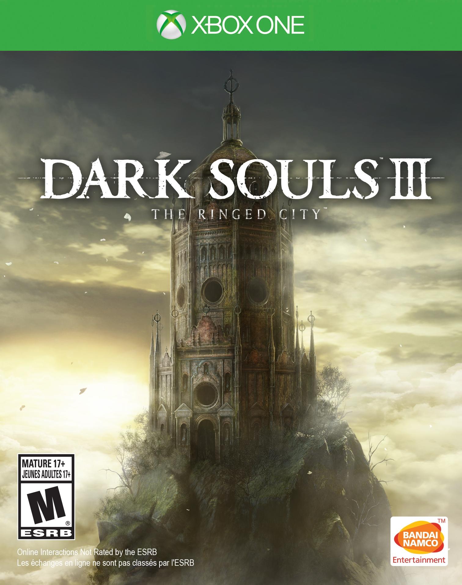 Dark Souls III The Ringed City Xbox One Boxart