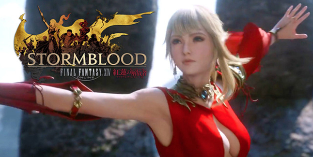 Final Fantasy: XIV Stormblood Banner