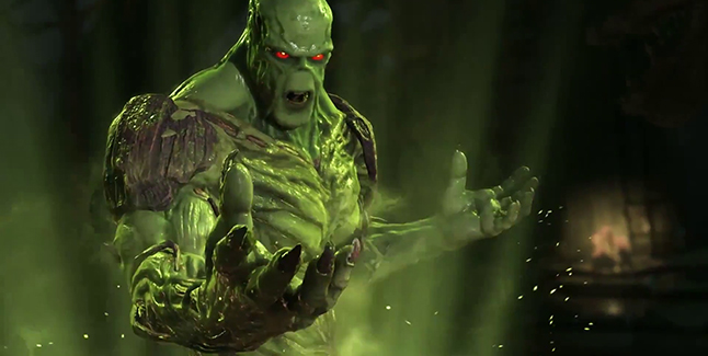 Injustice 2 Swamp Thing