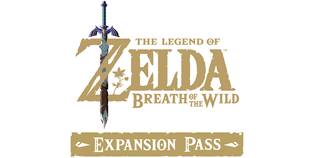 The Legend of Zelda: Breath of the Wild Expansion Pass Logo