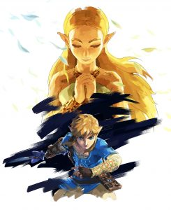 The Legend of Zelda: Breath of the Wild Expansion Pass Illustration