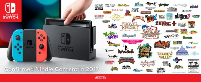 Nintendo Switch IndieGraphic