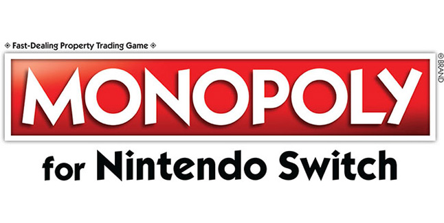 Monopol for Nintendo Switch Logo