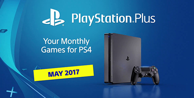 PS Plus May 2017 Banner