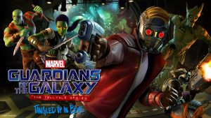 Guardians of the Galaxy: The Telltale Series Key Art