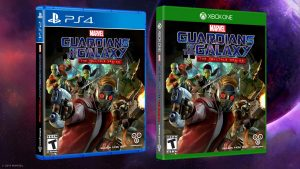 Guardians of the Galaxy: The Telltale Series Boxarts