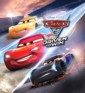 Cars 3: Driven to Win Key Art