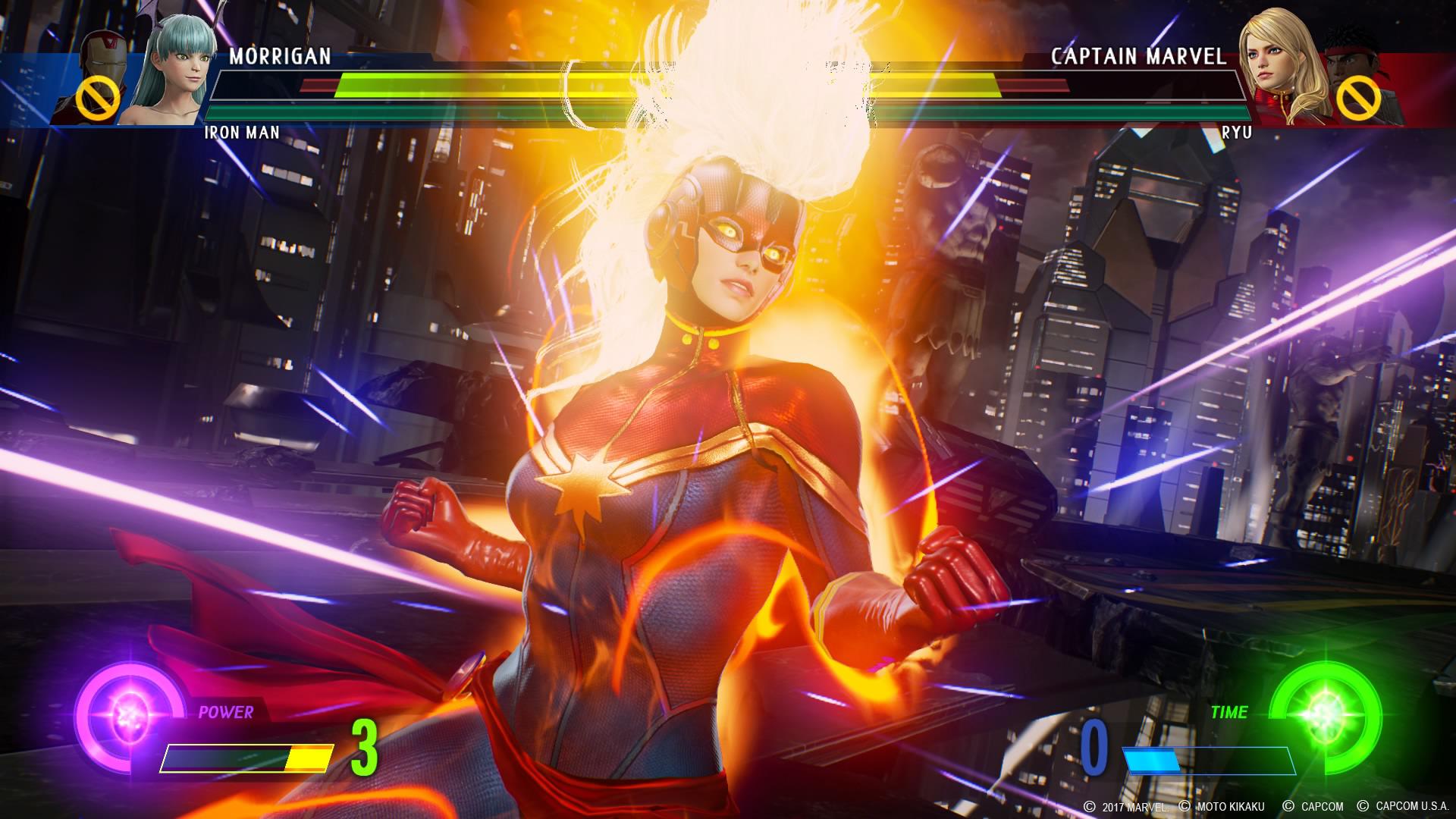 Marvel Vs Capcom Infinite Screen 9