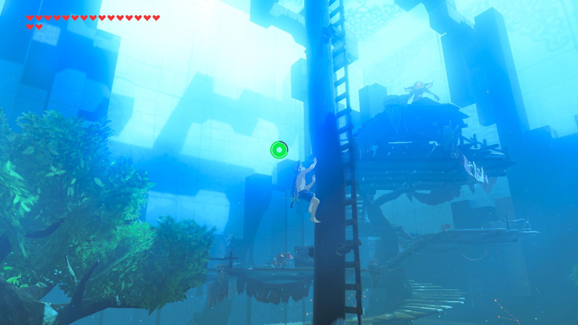 The Legend of Zelda: Breath of the Wild Trial of the Sword Screen 2