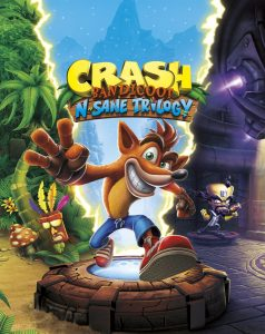 Crash Bandicoot N. Sane Trilogy Boxart