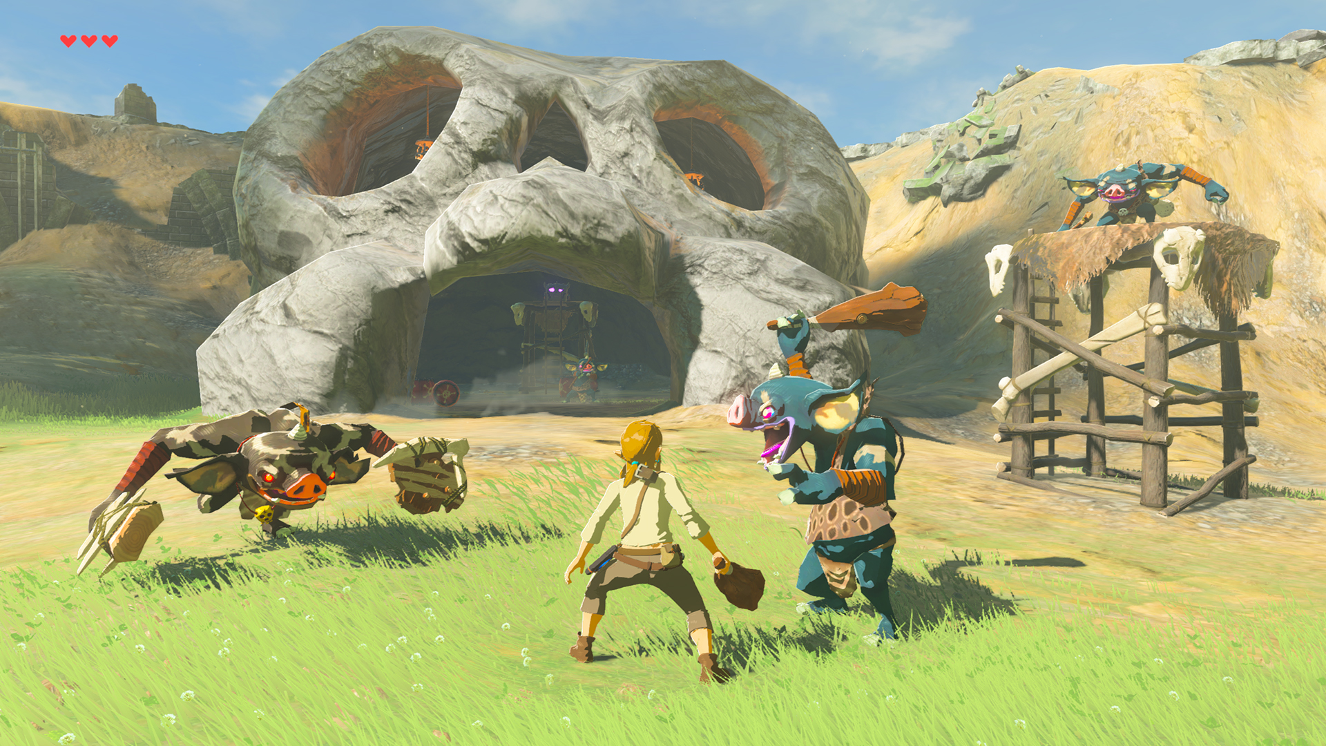 The Legend of Zelda Breath of the Wild Hard Mode Screen 1