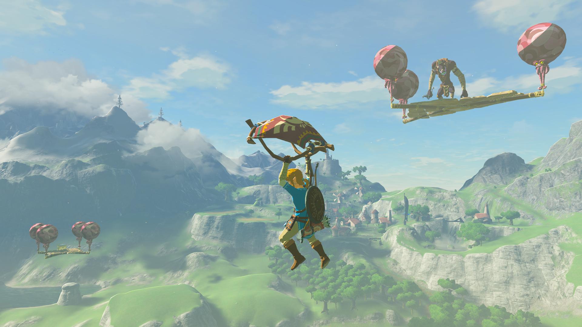 The Legend of Zelda Breath of the Wild Hard Mode Screen 2