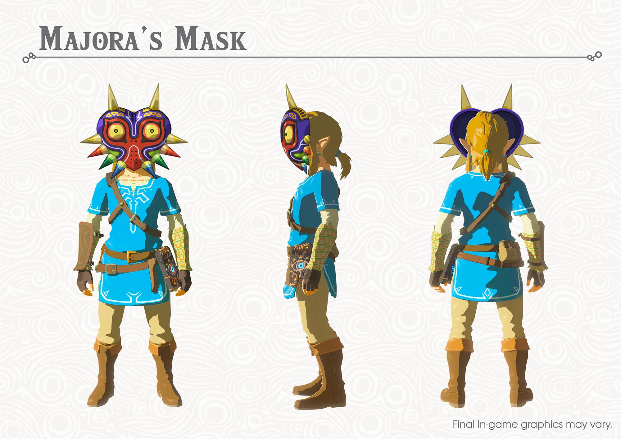 The Legend of Zelda Breath of the Wild New Equipment 1