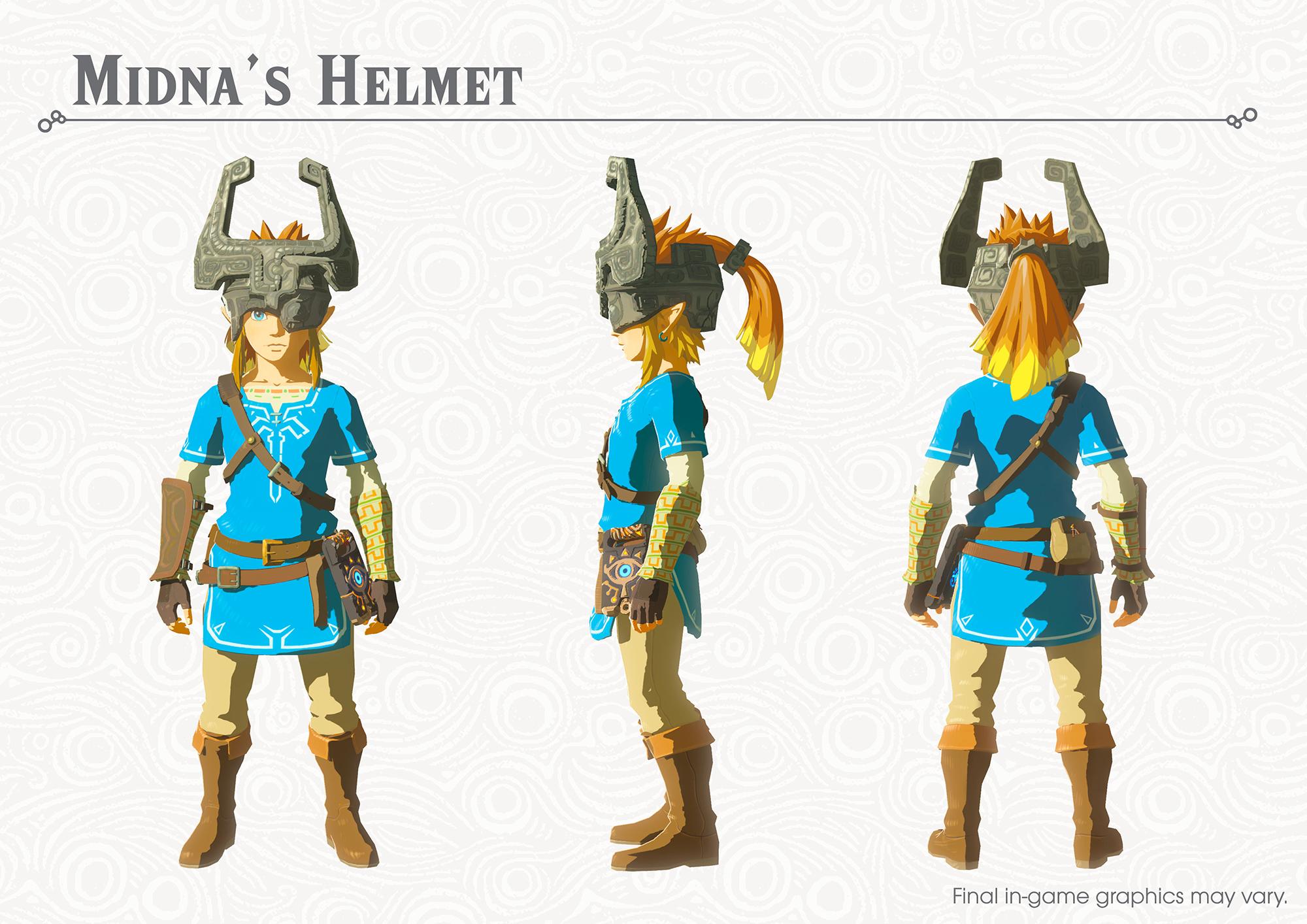 The Legend of Zelda Breath of the Wild New Equipment 2