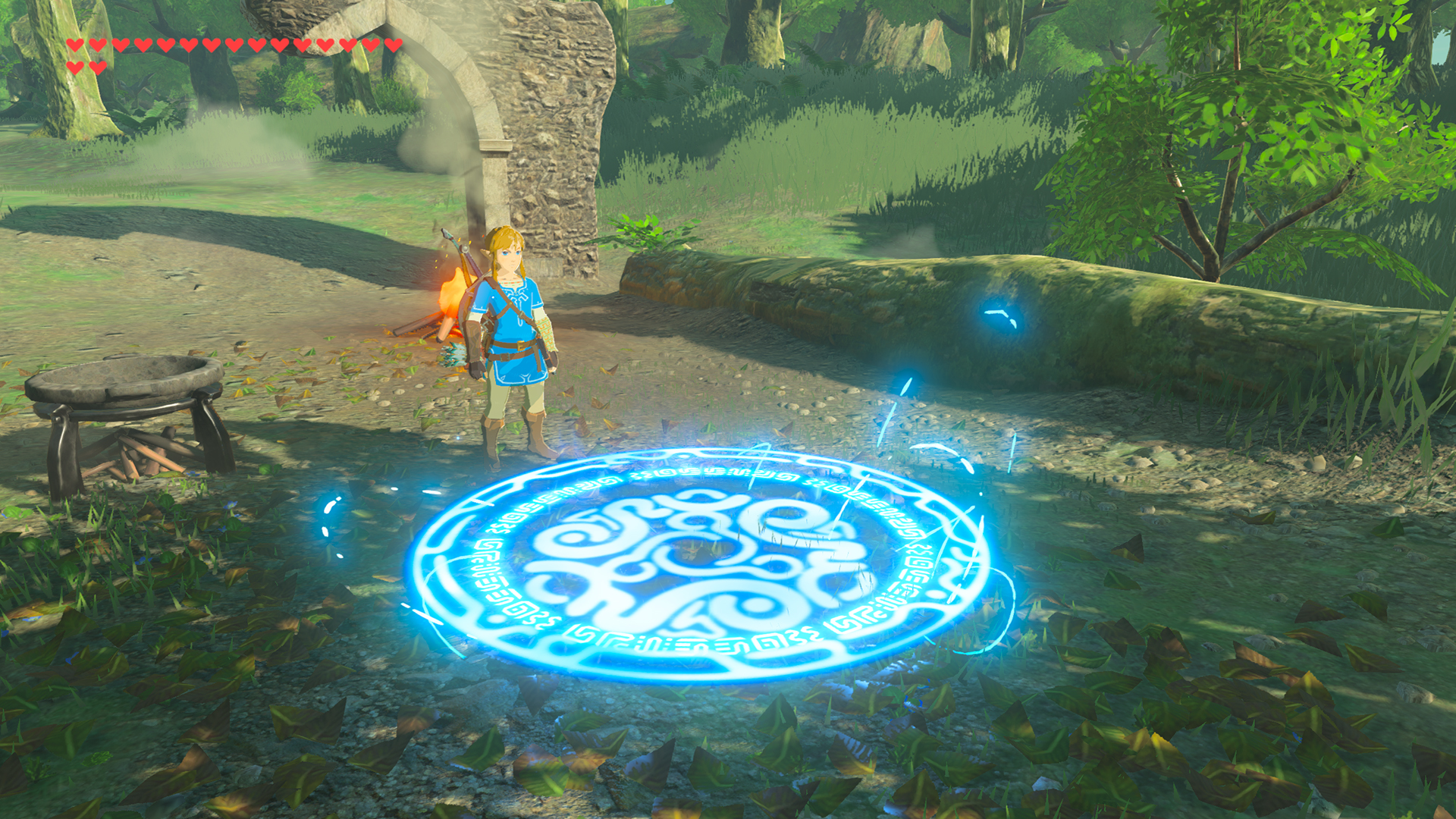 The Legend of Zelda Breath of the Wild Travel Medallion Screen 2