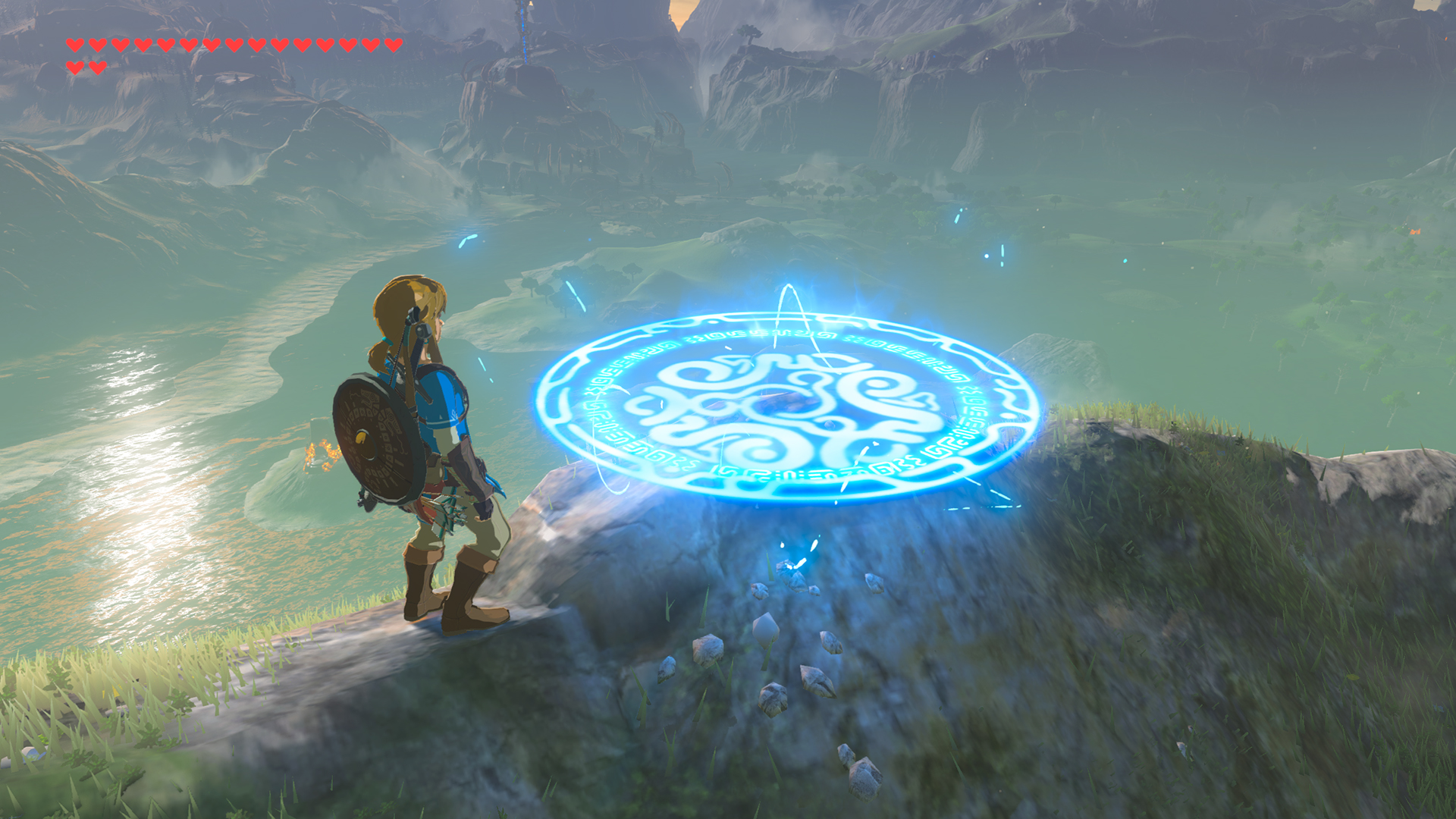 The Legend of Zelda Breath of the Wild Travel Medallion Screen 3