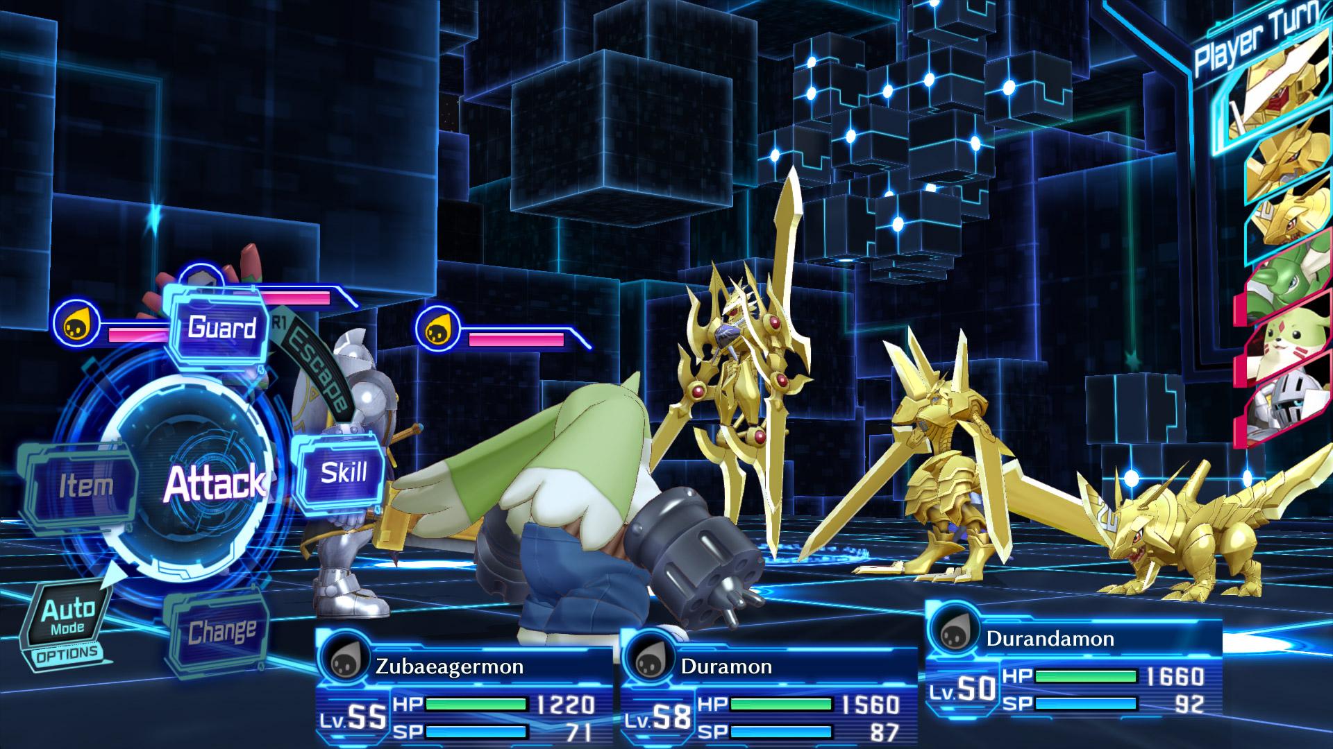 Digimon Story Cyber Sleuth Hacker S Memory Screen 2