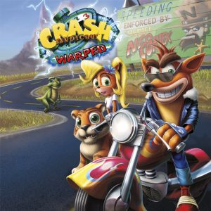Crash Bandicoot: Warped Cover Art
